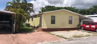 Miami Gardens Single Family Home For Sale: 20322 NW 52 Street