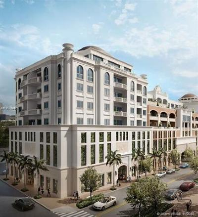 Coral Gables Condo For Sale: 275 Giralda Ave #7D