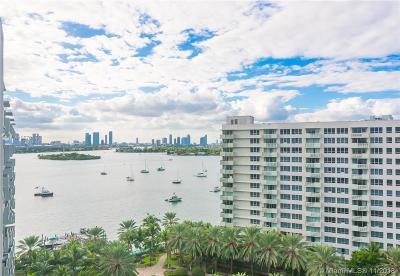 Miami Beach Condo For Sale: 1500 Bay Rd #1454S