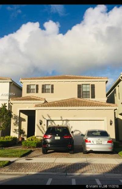 Aventura Single Family Home For Sale: 191 Terrace