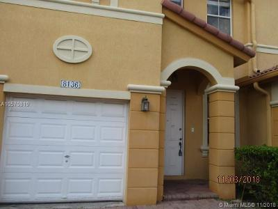Doral Condo For Sale: 8136 NW 108th Ave