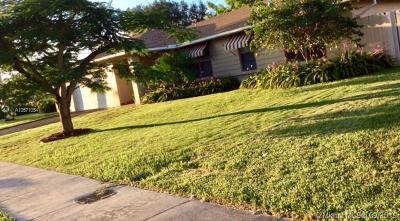Miami Single Family Home For Sale: 8521 SW 133rd Pl