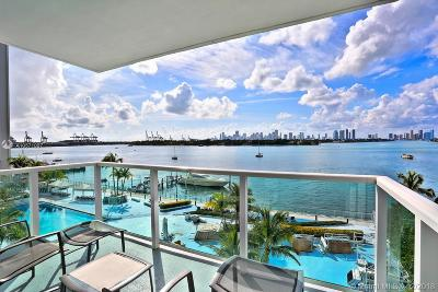Miami Beach Condo For Sale: 1000 West Ave #511