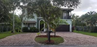 Miami Single Family Home For Sale: 19536 SW 130th Ave Rd