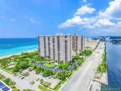Hollywood Condo For Sale: 1201 S Ocean Dr #110S
