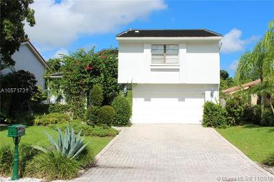 Boca Raton FL Single Family Home For Sale: $485,000
