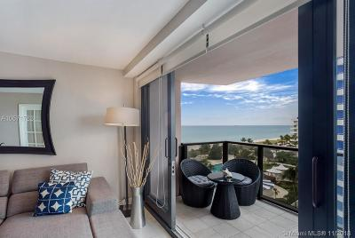 Miami Beach Condo For Sale: 5225 Collins Ave #1007