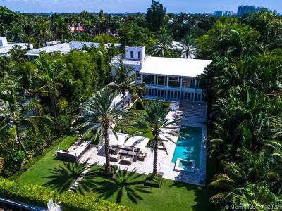 Miami Beach Single Family Home For Sale: 24 Palm Ave