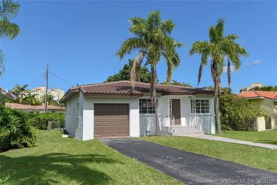 Coral Gables Single Family Home For Sale: 3015 Coconut Grove Dr