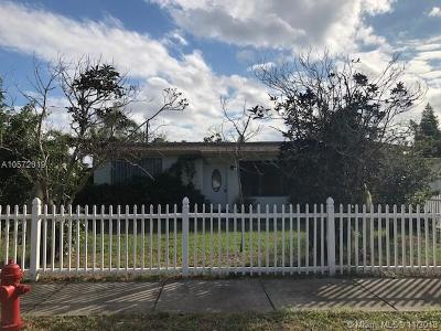 Fort Lauderdale Single Family Home Active With Contract: 3130 SW 20th Ct