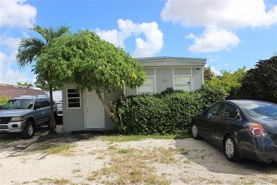 Miami FL Single Family Home For Sale: $58,500