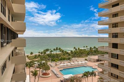 Bal Harbour Condo For Sale: 9801 Collins Ave #10F