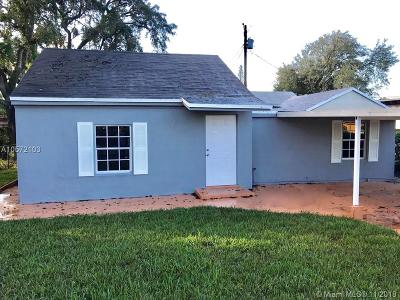 Miami FL Single Family Home For Sale: $214,900