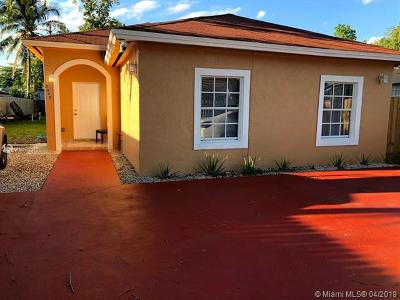 Miami FL Single Family Home For Sale: $325,000