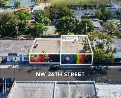 Miami Commercial For Sale: 144-150 NW 36th St
