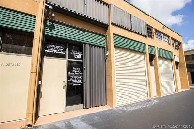 Miami Commercial For Sale: 12357 SW 132nd Ct #14