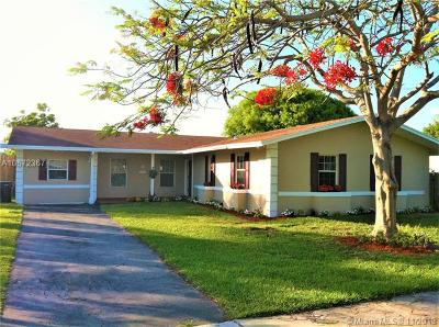 Cutler Bay Single Family Home For Sale: 9545 Tiffany Drive
