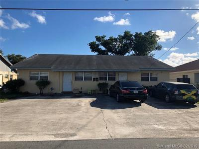 Hallandale Commercial For Sale: 401 NW 2nd St #1-4