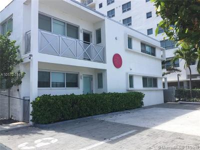 Miami Beach Condo For Sale: 1816 Meridian Ave #14