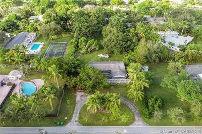Pinecrest Single Family Home For Sale: 7601 SW 132nd St