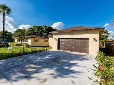 Fort Lauderdale Single Family Home For Sale: 2921 NW 9th Pl