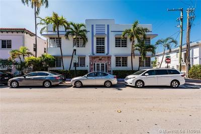 Miami Beach Condo For Sale: 610 8th St #101