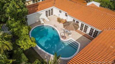 Coral Gables Single Family Home For Sale: 5410 Alhambra Cir