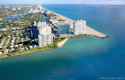 Fort Lauderdale Condo Active With Contract: 2200 S Ocean Ln #1203