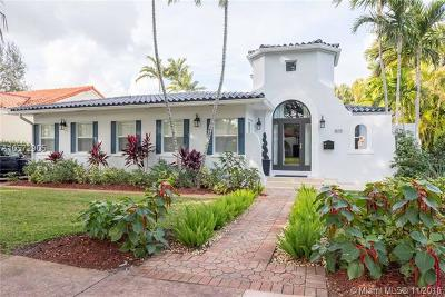 Coral Gables Single Family Home For Sale: 805 Sorolla Ave
