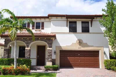 Doral Single Family Home For Sale: 9855 NW 86th Terr