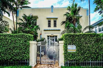 Miami Beach Condo For Sale: 928 Euclid Ave #1