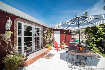 Hollywood Single Family Home For Sale: 1607 Moffett St