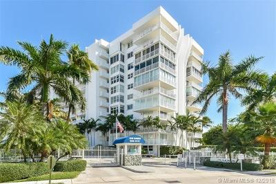 Condo For Sale: 609 Ocean Dr #8G
