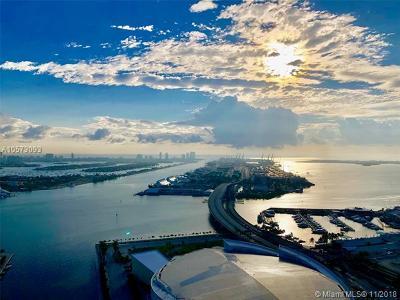 Miami Condo For Sale: 888 Biscayne Blvd #4205