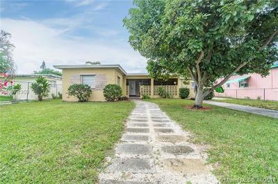 Miami Single Family Home For Sale: 324 NW 105th St