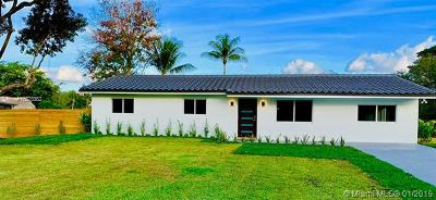 Southwest Ranches Single Family Home For Sale: 4830 SW 188th Ave