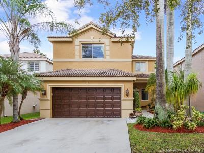 Weston Single Family Home For Sale: 435 Fishtail Ter
