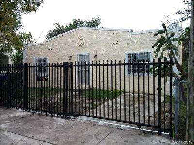 Miami Single Family Home For Sale: 542 NW 42 Street