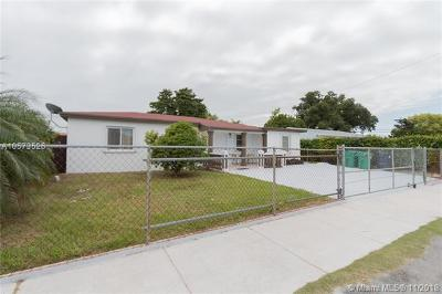 Single Family Home For Sale: 7580 SW 30th Ter