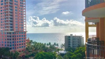 Fort Lauderdale Condo For Sale: 2011 N Ocean Blvd #1004N