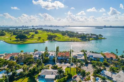 Bay Harbor Islands Single Family Home For Sale: 9440 W Broadview Dr