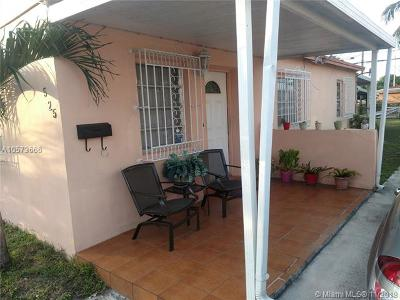 Hialeah Single Family Home For Sale: 525 E 17th St