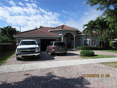 Cutler Bay Single Family Home For Sale: 21760 SW 101st Ave