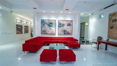 Miami FL Single Family Home For Sale: $2,200,000