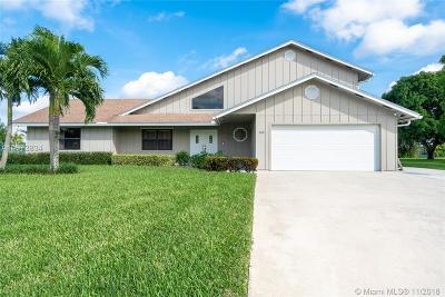 Royal Palm Beach Single Family Home For Sale: 142 Santa Monica Ave