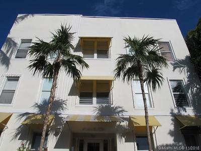 Miami Beach Condo For Sale: 1521 Lenox Ave #207