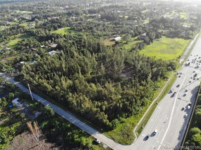 Broward County Residential Lots & Land For Sale: 7088 SW 185