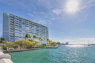Miami Beach Condo For Sale: 3 Island Ave #11H