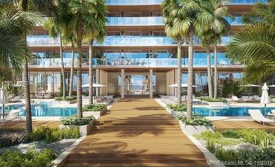 Miami Beach Condo For Sale: 5775 Collins Ave #1503 Sky