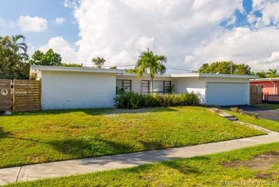 North Miami Beach Single Family Home Active With Contract: 2085 NE 186th Dr